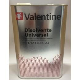 DISOLVENTE UNIVERSAL VALENTINE