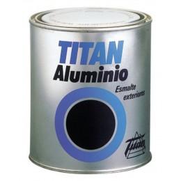 ESMALTE TITAN ALUMINIO EXTERIORES ALUMINIO