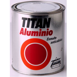 ESMALTE TITAN ALUMINIO ANTICALóRICO ALUMINIO
