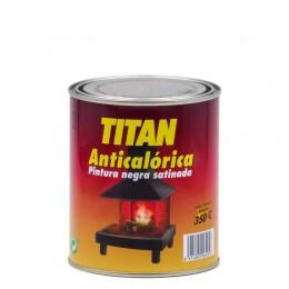 PINTURA ANTICALóRICA TITAN NEGRO