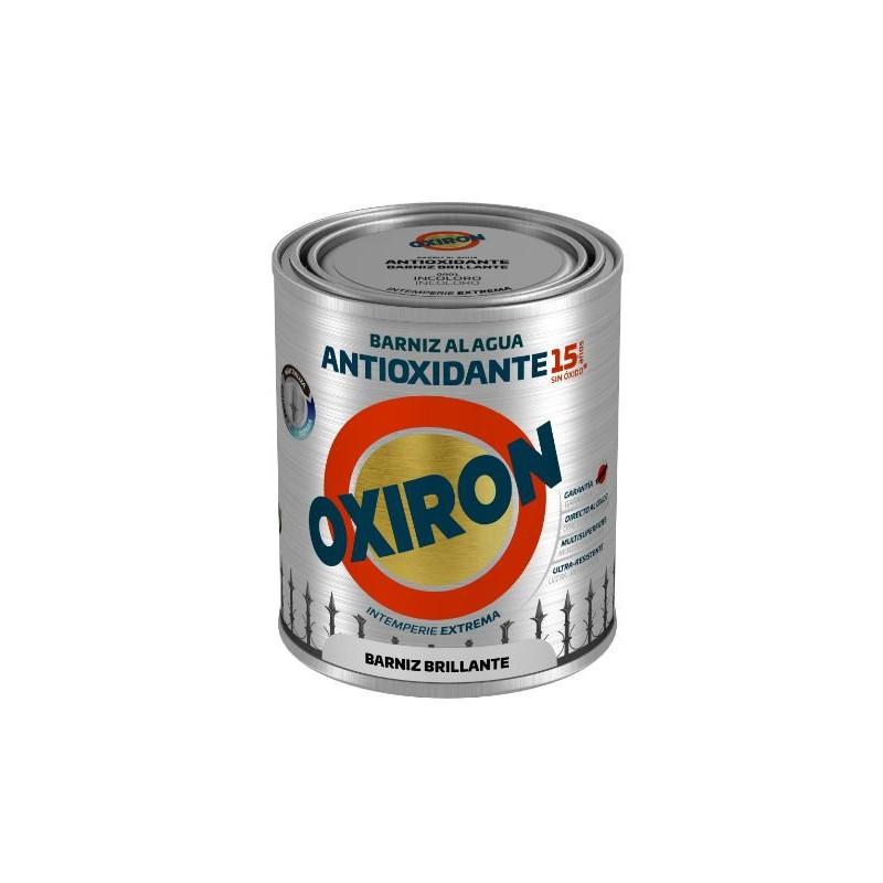 BARNIZ ANTIOXIDANTE OXIRON AL AGUA TITAN INCOLORO