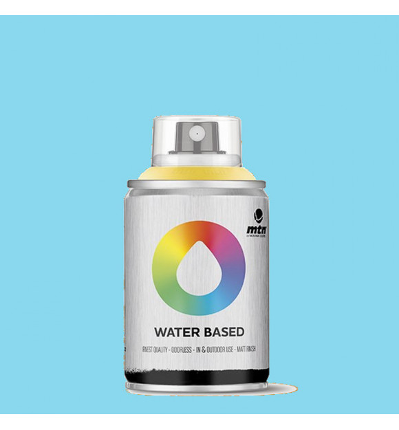 PINTURA SPRAY AL AGUA MONTANA WB PHTHALO BLUE LIGHT
