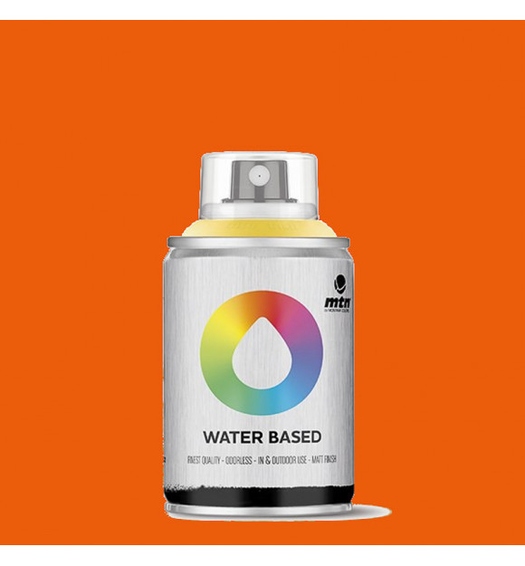 PINTURA SPRAY AL AGUA MONTANA WB AZO ORANGE