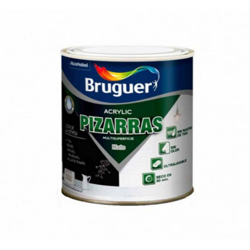 PINTURA ACRILICA PIZARRAS BRUGER NEGRO
