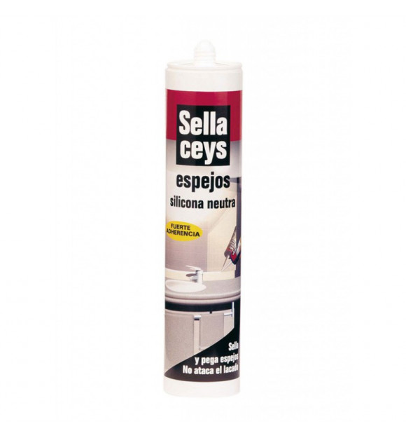 SILICONA SELLACEYS ESPEJOS 280ML BLANCO