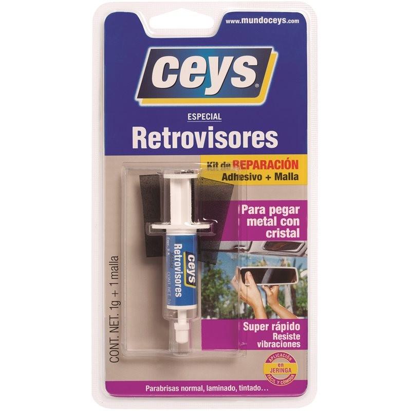 RETROVISORES KIT ADHESIVO CEYS 1G+1MALLA