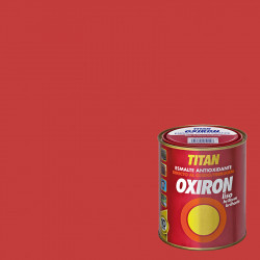 ESMALTE ANTIOXIDANTE OXIRON LISO TITAN ROJO