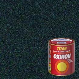 ESMALTE ANTIOXIDANTE OXIRON LISO TITAN GRIS METALIZADO