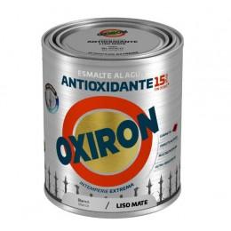 ESMALTE ANTIOXIDANTE OXIRON LISO AL AGUA TITAN BLANCO