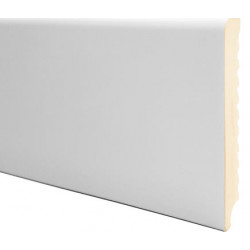 ZOCALO PVC 83MM BLANCO
