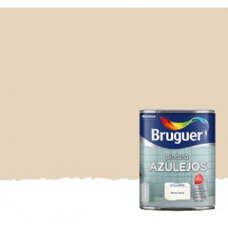 ESMALTE PARA AZULEJOS BRUGUER BEIGE BIZCOCHO